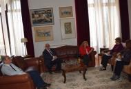Συνάντηση  του Δ.Σ. του ΔΙΚΑΜ με την Υπουργό Μακεδονίας και Θράκης κυρία Μαρία Κόλλια-Τσαρουχά