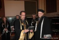 Ceremony for the Honorary Doctoral Degree of Philosophy bestowed upon Lambros Couloubaritsis